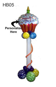 HB05 – Happy Birthday Cupcake As Seen – 49.95 Personalize With Your Special Someone's Name